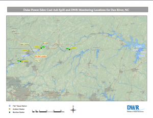 coal ash spill NCDENR water testing site- full pdf