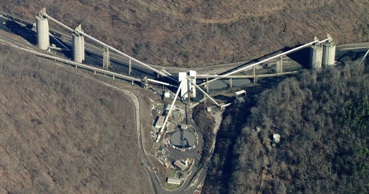 Patriot's Kanawha Eagle processing plant (photo-B ing maps)